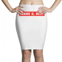 thank u, next hypebeast Pencil Skirts | Artistshot