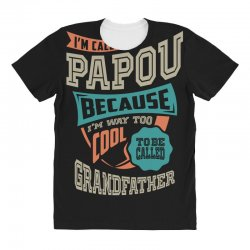 If Papou Can't Fix It All Over Women's T-shirt | Artistshot