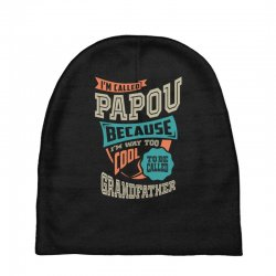If Papou Can't Fix It Baby Beanies | Artistshot