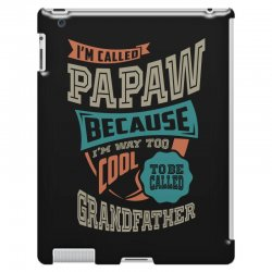 If Papaw Can't Fix It iPad 3 and 4 Case | Artistshot