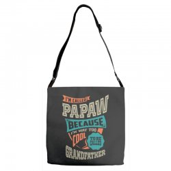 If Papaw Can't Fix It Adjustable Strap Totes | Artistshot