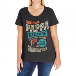 If Pappa Can't Fix It Ladies Curvy T-Shirt | Artistshot