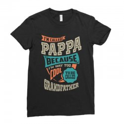 If Pappa Can't Fix It Ladies Fitted T-Shirt | Artistshot