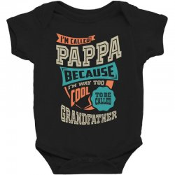 If Pappa Can't Fix It Baby Bodysuit | Artistshot