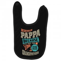If Pappa Can't Fix It Baby Bibs | Artistshot
