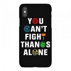 you can't fight thanos alone iPhoneX | Artistshot