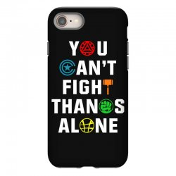 you can't fight thanos alone iPhone 8 | Artistshot