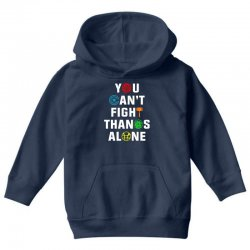 you can't fight thanos alone Youth Hoodie | Artistshot