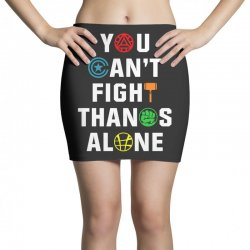 you can't fight thanos alone Mini Skirts | Artistshot