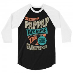If Pap-Pap Can't Fix It 3/4 Sleeve Shirt | Artistshot