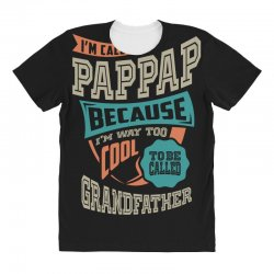 If Pap-Pap Can't Fix It All Over Women's T-shirt | Artistshot