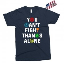 you can't fight thanos alone Exclusive T-shirt | Artistshot