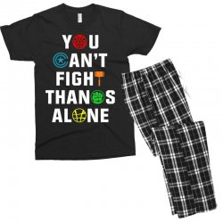 you can't fight thanos alone Men's T-shirt Pajama Set | Artistshot