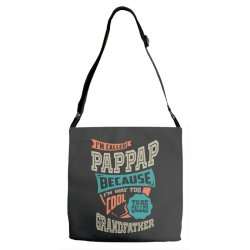 If Pap-Pap Can't Fix It Adjustable Strap Totes | Artistshot