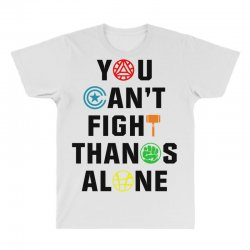 you can't fight thanos alone black All Over Men's T-shirt | Artistshot