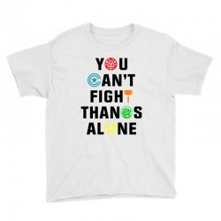 you can't fight thanos alone black Youth Tee | Artistshot