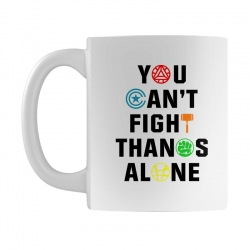 you can't fight thanos alone black Mug | Artistshot