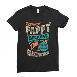 If Pappy Can't Fix It Ladies Fitted T-Shirt | Artistshot
