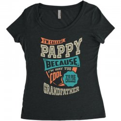 If Pappy Can't Fix It Women's Triblend Scoop T-shirt | Artistshot
