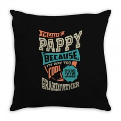 If Pappy Can't Fix It Throw Pillow | Artistshot