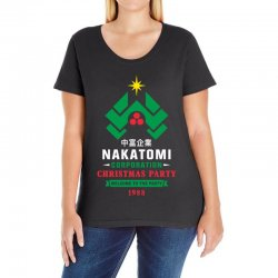 nakatomi corporation christmas party 1988 Ladies Curvy T-Shirt | Artistshot