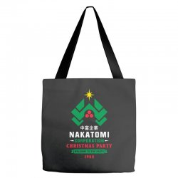 nakatomi corporation christmas party 1988 Tote Bags | Artistshot