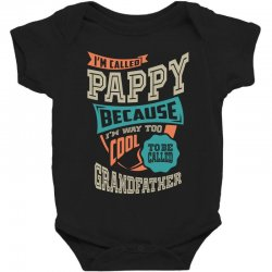 If Pappy Can't Fix It Baby Bodysuit | Artistshot