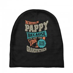 If Pappy Can't Fix It Baby Beanies | Artistshot