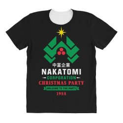 nakatomi corporation christmas party 1988 All Over Women's T-shirt | Artistshot