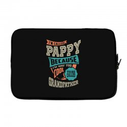 If Pappy Can't Fix It Laptop sleeve | Artistshot