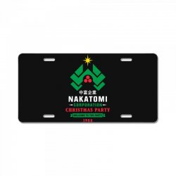 nakatomi corporation christmas party 1988 License Plate | Artistshot