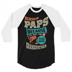 If Paps Can't Fix It 3/4 Sleeve Shirt | Artistshot