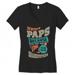 If Paps Can't Fix It Women's V-Neck T-Shirt | Artistshot