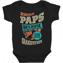 If Paps Can't Fix It Baby Bodysuit | Artistshot