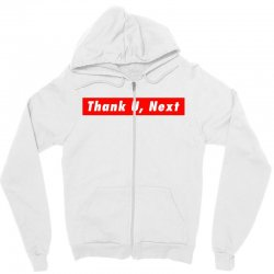 thank u, next hypebeast big caps Zipper Hoodie | Artistshot