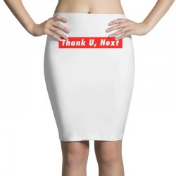 thank u, next hypebeast big caps Pencil Skirts | Artistshot