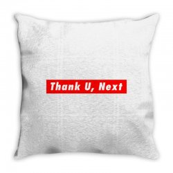 thank u, next hypebeast big caps Throw Pillow | Artistshot