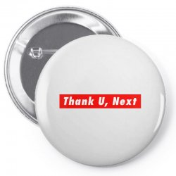 thank u, next hypebeast big caps Pin-back button | Artistshot