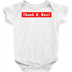 thank u, next hypebeast big caps Baby Bodysuit | Artistshot