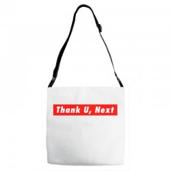 thank u, next hypebeast big caps Adjustable Strap Totes | Artistshot
