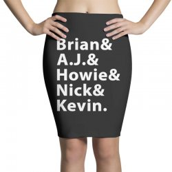 Backstreet Boys Pencil Skirts | Artistshot