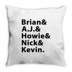 Backstreet Boys Throw Pillow | Artistshot