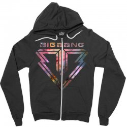 big bang k pop galaxy Zipper Hoodie | Artistshot