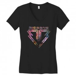big bang k pop galaxy Women's V-Neck T-Shirt | Artistshot