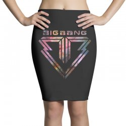 big bang k pop galaxy Pencil Skirts | Artistshot