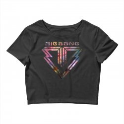 big bang k pop galaxy Crop Top | Artistshot
