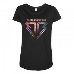 big bang k pop galaxy Maternity Scoop Neck T-shirt | Artistshot