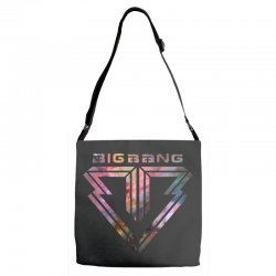 big bang k pop galaxy Adjustable Strap Totes | Artistshot