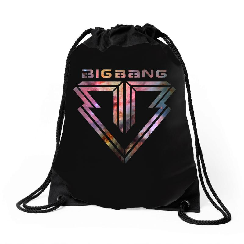 Big Bang K Pop Galaxy Drawstring Bags | Artistshot