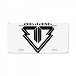 big bang k pop License Plate | Artistshot